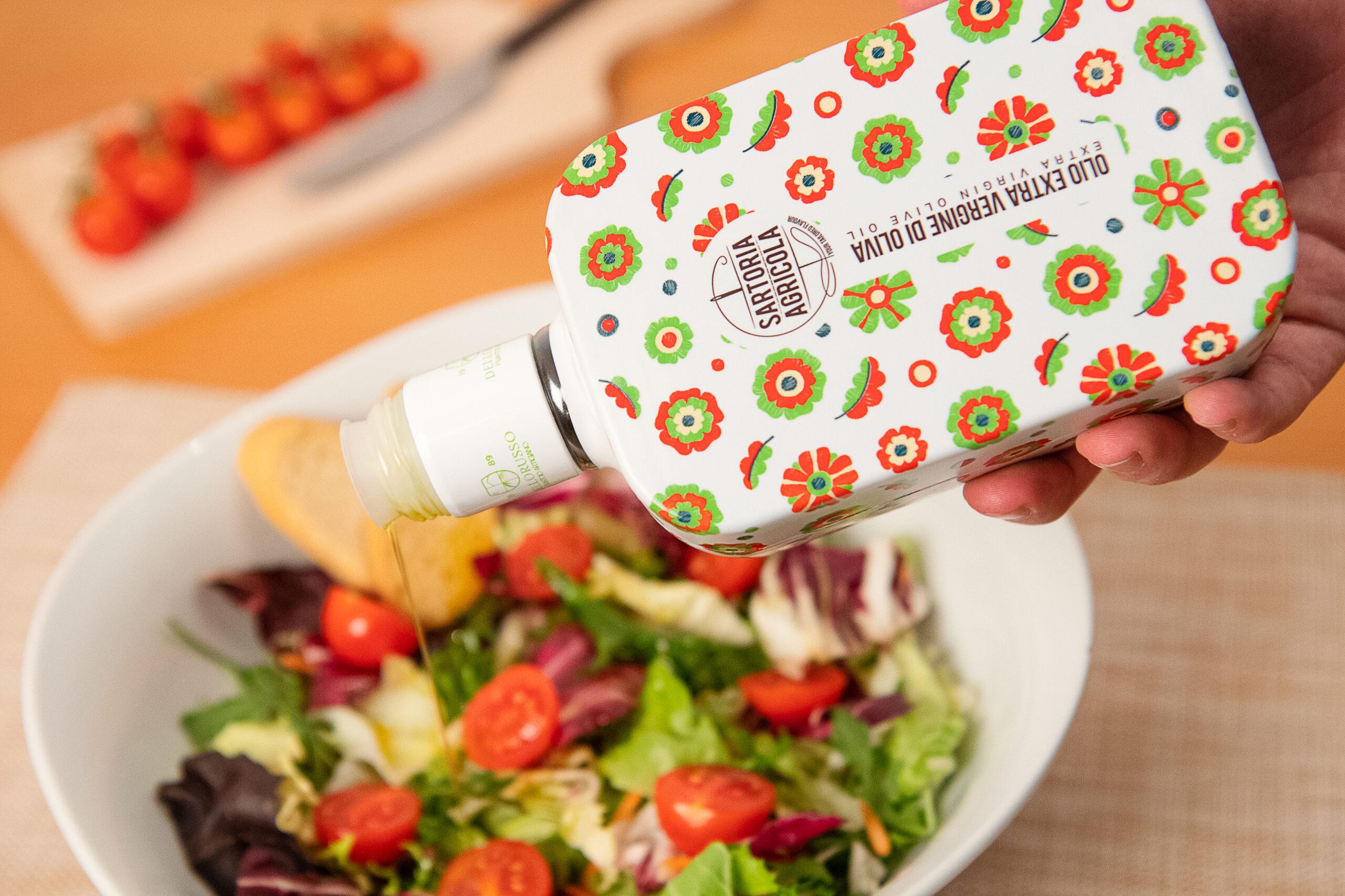 quante calorie olio extravergine di oliva donna francesca