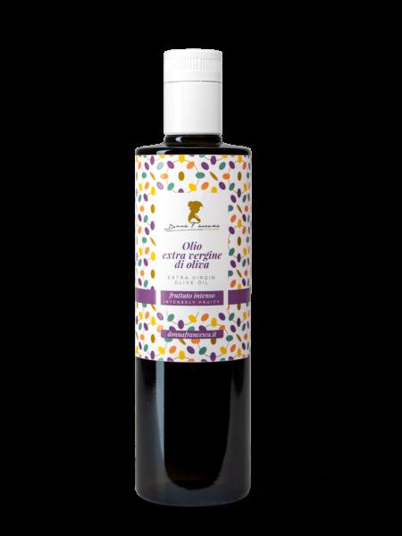 fruttato intenso olio extravergine di oliva donna francesca