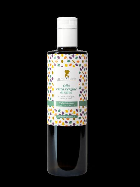 fruttato Leggero olio extravergine di oliva donna francesca