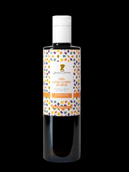 fruttato medio olio extravergine di oliva donna francesca